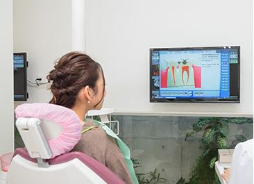 アニメーションや口腔内写真を活用した治療前後の説明