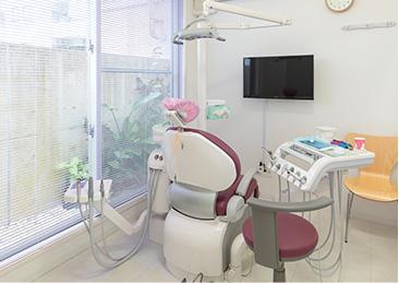 患者さんが快適に治療を受けられるスペース